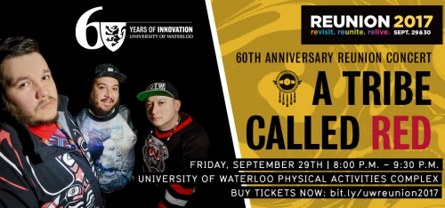 Banner image for A Tribe Called Red with Reunion Concert information.