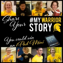 Tell Your Waterloo Story with images of Athletics participants.