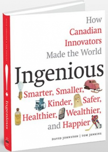 The Ingenious book's front cover.