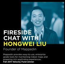 Fireside Chat with Hongwei Liu, founder of MappedIn.