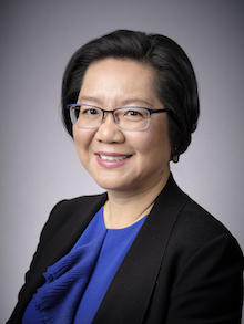 Profile picture of the new Dean of AHS, Lili Liu