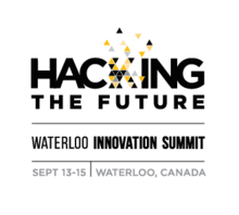 The Hacking the Future Waterloo Innovation Summit logo.
