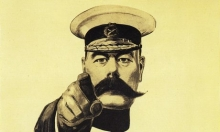An image of Lord Kitchener.