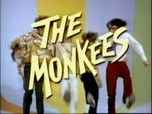 A screenshot of The Monkees TV show title card.