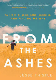 "The cover of ""From the Ashes."""