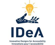 IDeA contest image, featuring a robotic hand with an electric light bulb hovering above it.