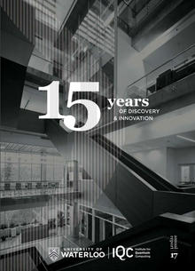 "Cover of report ""15 years of discover and innovation"""