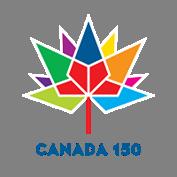 Canada 150 logo.