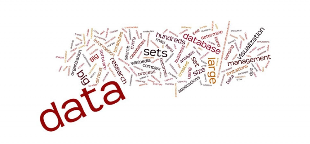 Big Data word cluster