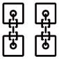 a high-velocity blockchain logo