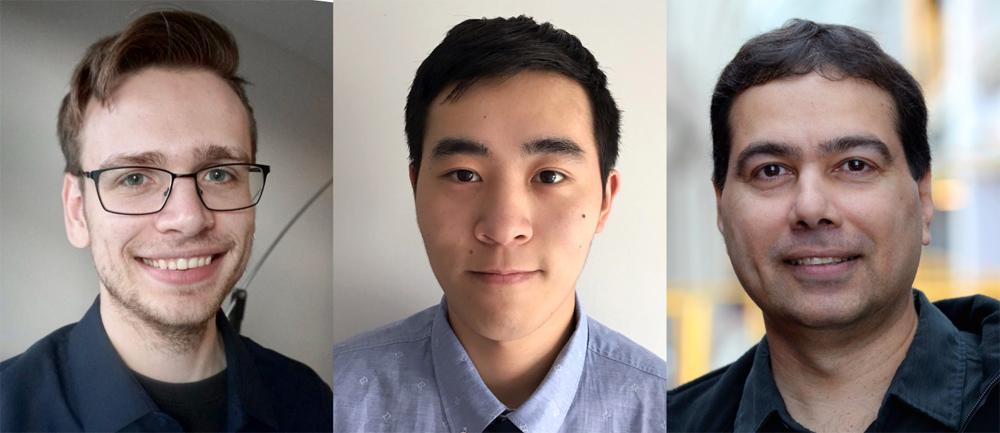 photo of Brad Glasbergen, Fangyu Wu, Khuzaima Daudjee