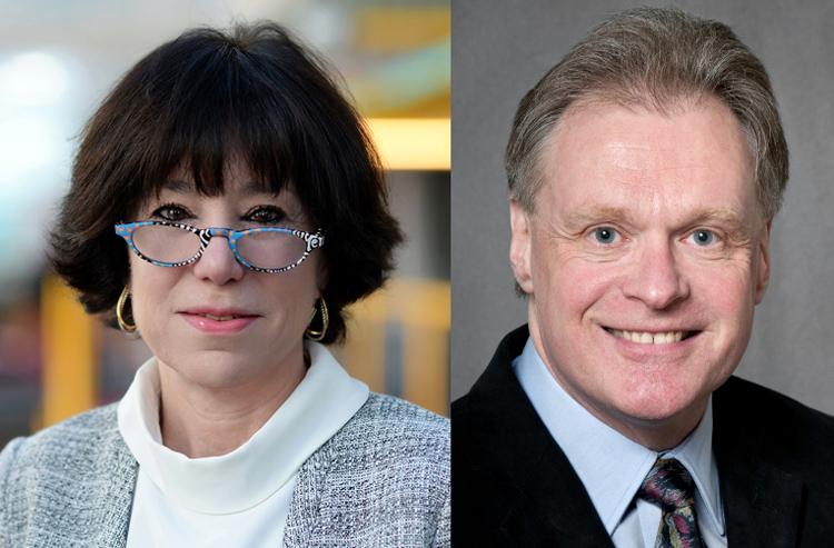 photo of Professor Maura R. Grossman and Gordon V. Cormack