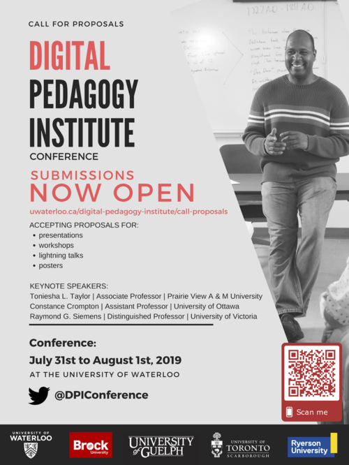 Call for Proposals | Digital Pedagogy Institute | University of Waterloo