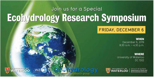 Ecohydrology Research Seminar Poster