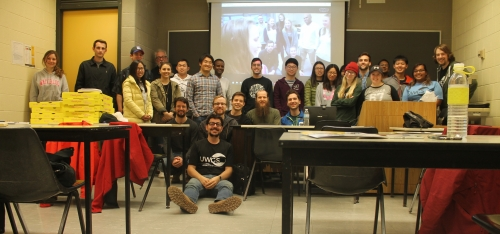 University of Waterloo Geophysical Society's monthly GeoFLex event brought together 45 students to learn about geophysics.