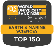 2017 QS Earth and Marine Sciences Ranking Top 150