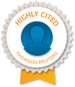 Thomson-Reuters highly cited researchers stamp