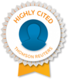 Thomson-Reuters Highly Cited Researcher symbol