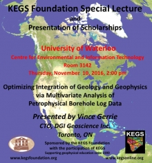 KEGS Foundation Special Lecture announcement poster.