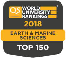 Earth QS Ranking 2018