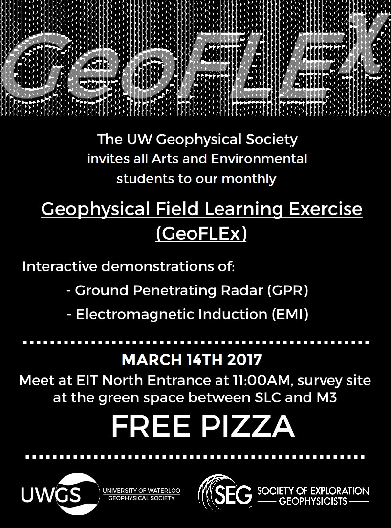 Geoflex demonstration for Arts and Environment students on March 14th at 11:00 am,