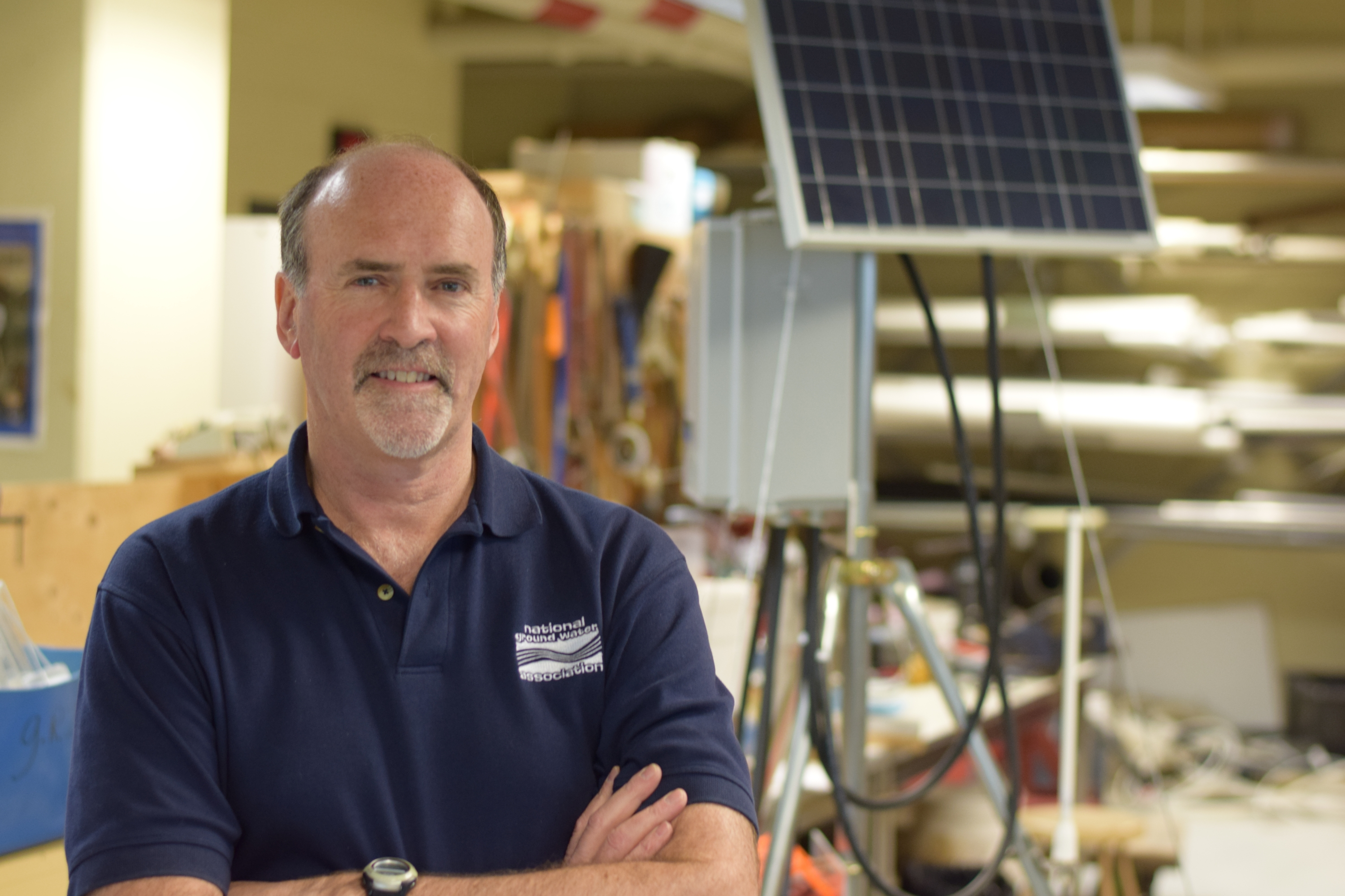 Waterloo Earth and Environmental Sciences Professor Dave Rudolph