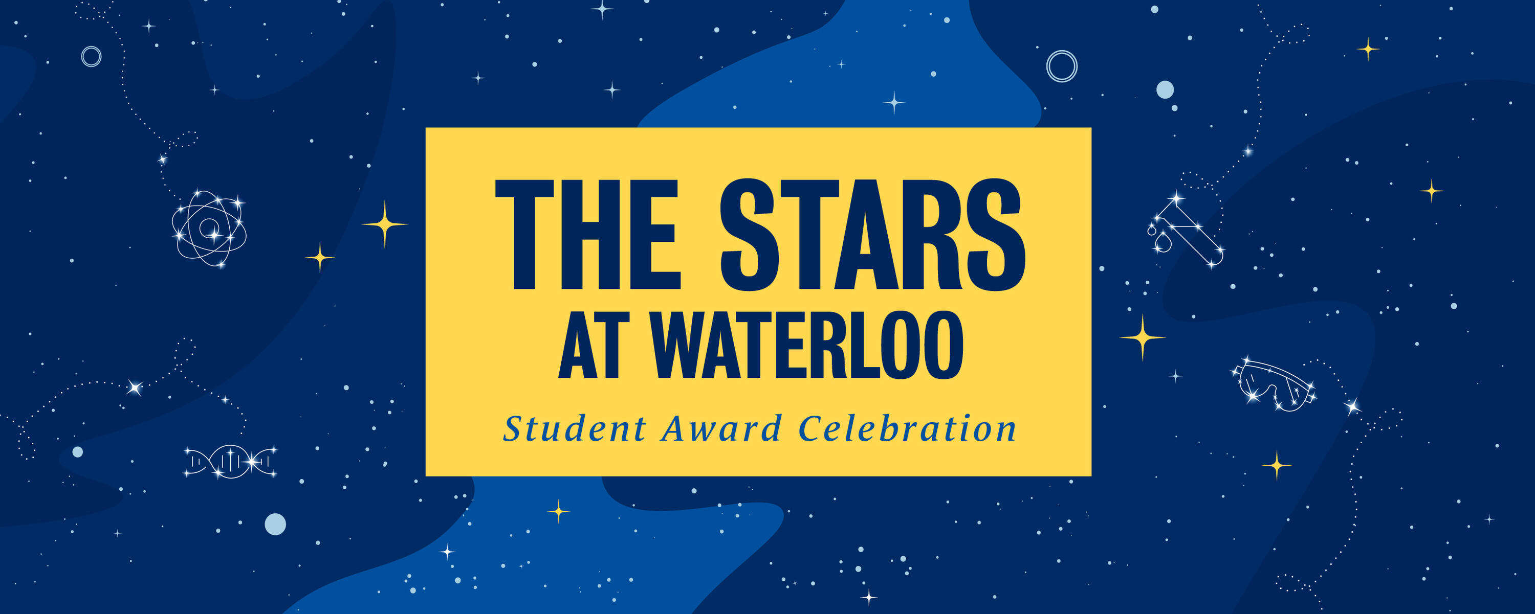 The Stars at Waterloo event banner