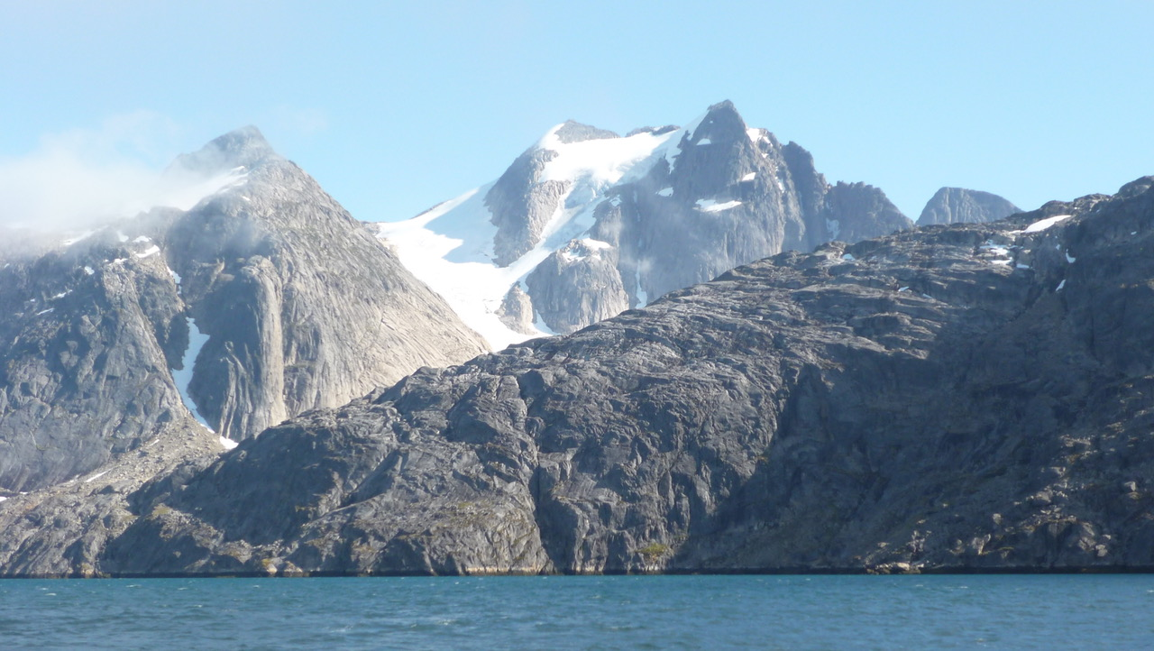 Mountain range in Greenland