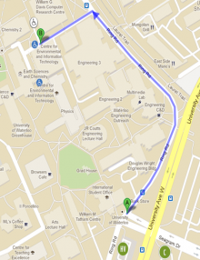 Directions to the Earth Sciences Museum from Ring Road
