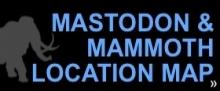 mammoth and mastodon map
