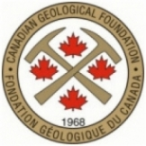 Canadian geological foundation- Foundation geologique du Canada- since/depuis 1968 logo