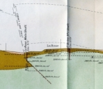 geologic map cross section