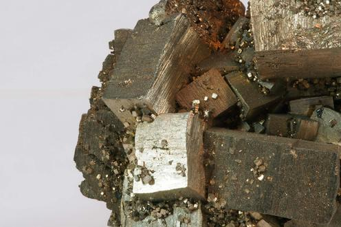 Pyrite after Marcasite