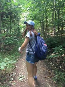 Madison MacGillivray in nature