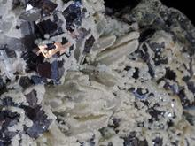 Galena and Spalerite with Calcite