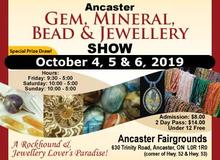 Postcard of ancaster gem show dates and hours
