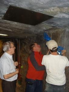 installing drill