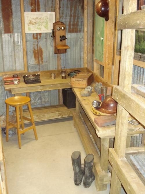 interior of mining office