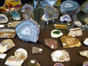 Ancaster gem show minerals