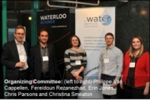 Philippe Van Cappellen, Fereidoun Rezanezhad, Erin Jones, Chris Parsons, Christina Smeaton