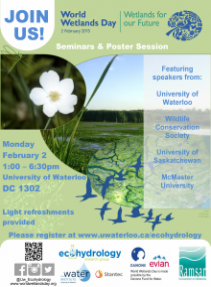 World Wetlands Day 2015 poster