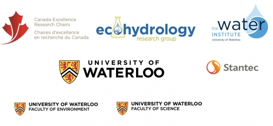 Canada Excellence Research Chairs, Ecohydrology Research Group, the Water Institute, University of Waterloo, Stantec, UW Faculty of Environment, UW Faculty of Science