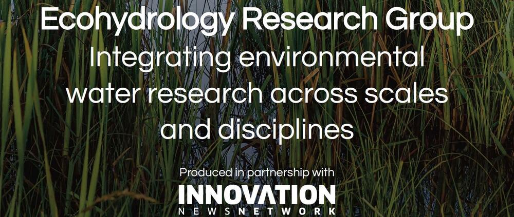 Ecohydrology Research Group eBooklet. Integrating environmental water research across scales and disciplines.