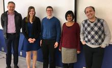 Christine Ridenour and her MSc defence committee