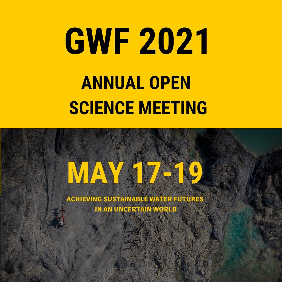 Logo for event which reads: GWF 2021 Annual Science Meeting May 17-19