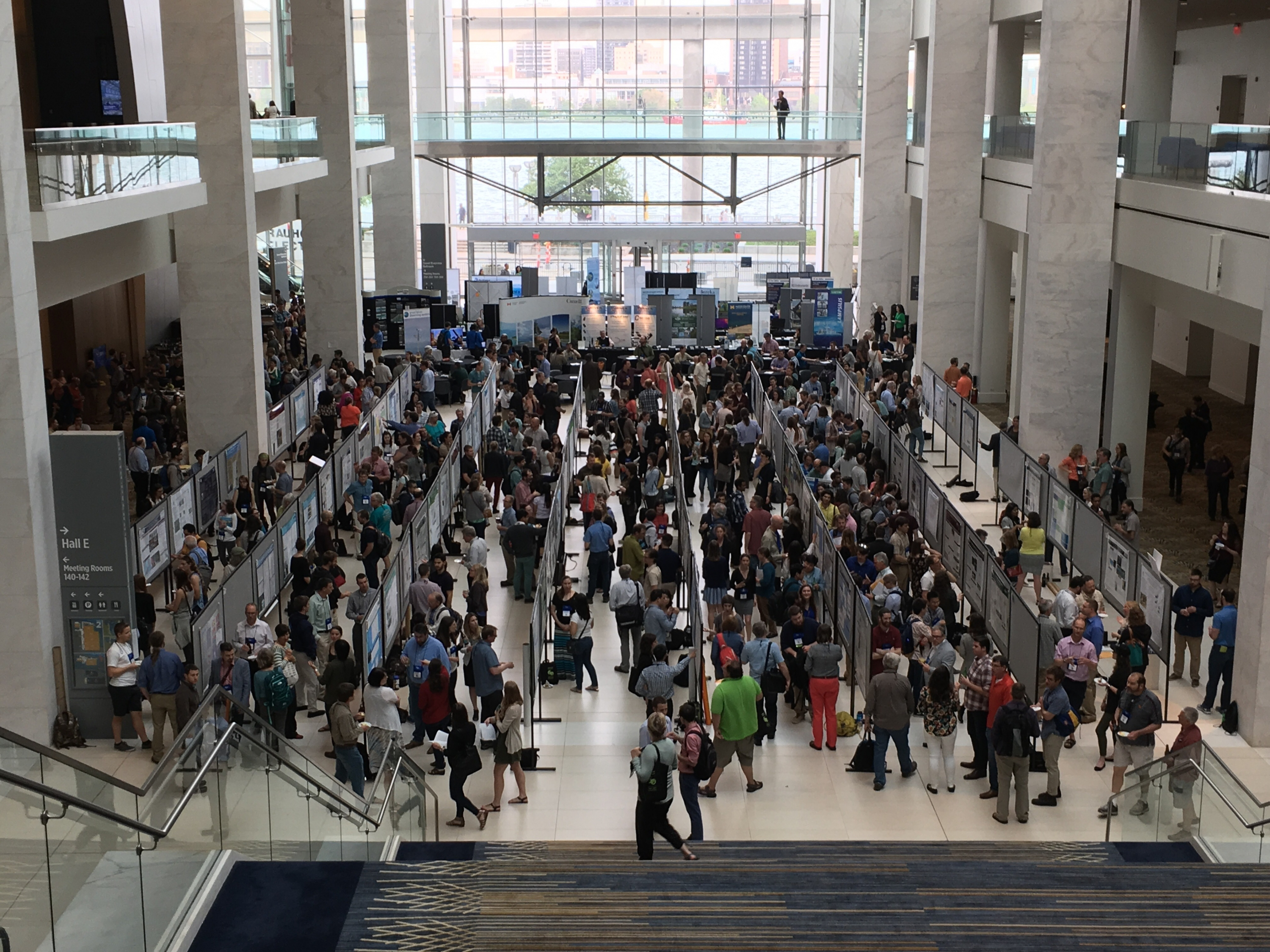IAGLP Confernence poster session hall