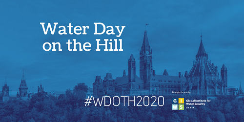 Banner for Water Day on the Hill