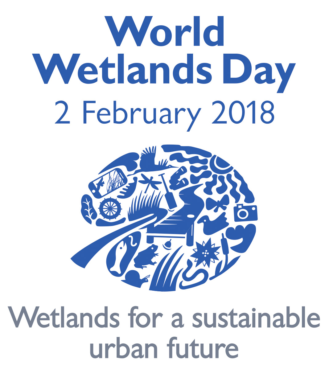 World Wetlands Day 2018 Poster