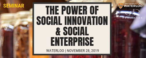 power of social enterprise banner