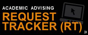 Request Tracker for academic advising